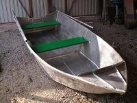 Мой друг придумал и строит складные алюминиевые лодки