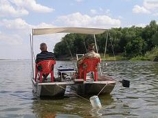 Очередная алюминиевая лодка от Чопорова. Катамаран разборный