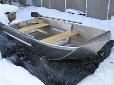 Лёгкая лодка для рыбалки под мотор 5-10 сил. Лучшая в мире!