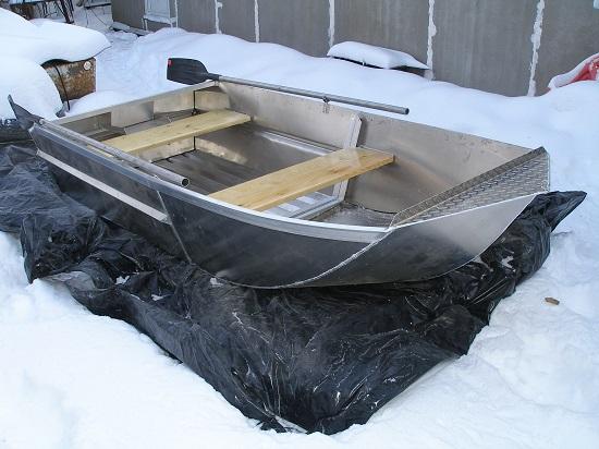 Лучшая в мире лёгкая лодка для рыбалки под мотор 5-10 сил