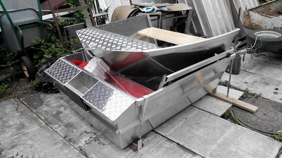 Разборная алюминиевая лодка. 'Ремикс' Автобота и Триумфа 350