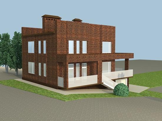 Домик в деревне. Новый проект дома